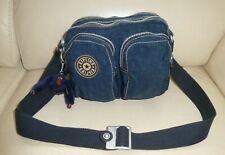 Kipling sac en bandoulière bleu foncé avec singe TB Etat