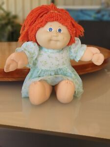 Cabbage Patch Kids CPK Red Hair No. 3 Coleco 1982 Hippy Child Plaited hair