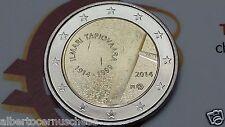 2 euro 2014 FINLANDIA 100 anni Ilmari TAPIOVAARA Finlande Finland Suomi Finnland