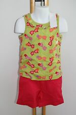 Gymboree Pretty Posies Girls Size 7 Sunglasses Top Shirt NWT Pink Shorts NEW