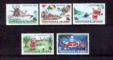 CHRISTMAS ISLAND 1988 Christmas set MUH