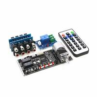 Remote Volume Audio Input Choose Motor Pot Preamplifier Board + On/Off Control