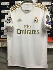 6e50495e612 Adidas Real Madrid Home Jersey 19 20 Stadium Cut Champions League Edition  Size L
