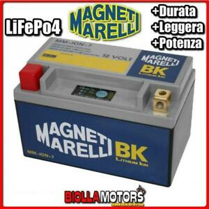MM-ION-7 BATTERIA LITIO MAGNETI MARELLI YTX7A-BS LiFePo4 YTX7ABS MOTO SCOOTER QU