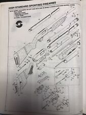 Exploded View High Standard Sporting Firearms Flite King Model K-122 12 Gauge