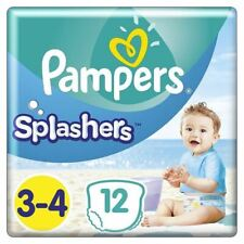 Pampers Splashers Size 3-4 12 Disposable Swim Pants