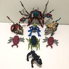 Transformers Beast Wars Lot Transmetals - Scavenger Cheetor Rattrap Spittor More
