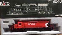 HO SCALE KATO 37-6332 EMD SD40 CP RAIL #5524
