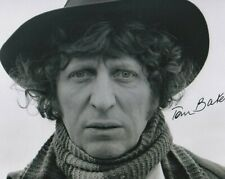 More details for doctor who autograph: tom baker (season 13) signed photo