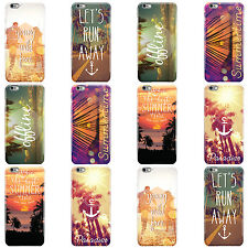 DYEFOR SUMMER QUOTES STATEMENTS HARD CASE COVER FOR APPLE IPHONE MOBILE PHONES