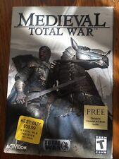 Medieval: Total War (PC, 2002) original box