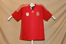 Team Spain FEF 2010 FIFA WORLD CHAMPIONS Adidas SOCCER JERSEY 2XL NWT $90 retail