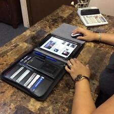 Thunderkase 2N1 Black iPad Samsung Galaxy Business Pad/Portfolio Organizer