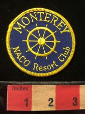 Monterey California RV Camper Patch NACO Club Resort 60C5