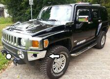 CROMO PARAURTI bumper angoli Cover per Hummer h3