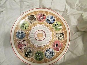 "WEDGWOOD Annual Millennium 1999 Calendar LITERATURE 10.25"" Collector Plate NEW"