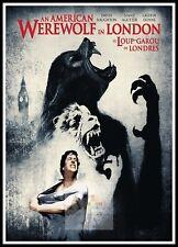 An American Werewolf In London 2   Horror Movie Posters Classic Vintage Cinema