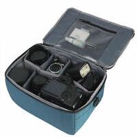 DSLR SLR Partition Flexible Folding Padded Camera Lens Dividers Case Bag In B5S0