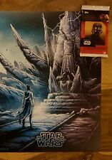 Star Wars The Rise Of Skywalker Odeon IMAX Poster 4 + Free Pack Of Trading Cards
