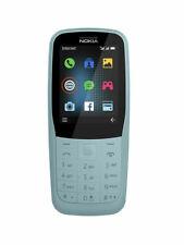 Nokia 220 4G Blue Dual SIM 4G LTE Unlocked Cell Phone - Brand New