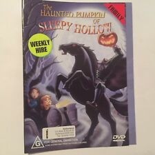 The Haunted Pumpkin Of Sleepy Hollow (DVD, 2003) - exrental disk only no case