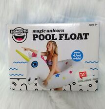 Magic Unicorn Pool Float Ring by Big Mouth Inc Over 4 Feet Wide