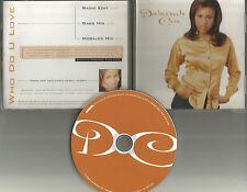 DEBORAH COX Who Do you Love 2 RARE MIXSE PROMO DJ CD Single David Morales