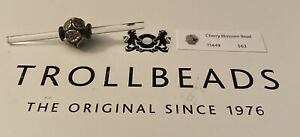 Authentic Trollbeads Silver Cherry Blossoms 11448 J14/15