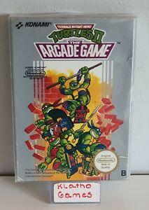 NES Spiel -Teenage Mutant Hero Turtles 2:The Arcade Game (PAL-B) (mit OVP) C3992