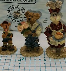 Vintage Boyds Bearly Built Accessories 2000 Bailey's Cozy Cottage 19502-1 Ed