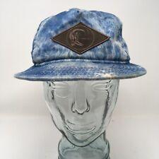 New Era O'Neill Mens Originals Baseball Cap Hat OSFM Blue Denim Strap Back