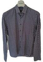 "Mens PRADA  long sleeve shirt size 41"" collar 16"" medium...RRP £495"