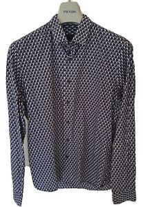 "Mens PRADA  long sleeve shirt size 41"" collar 16"" medium...RRP £495"