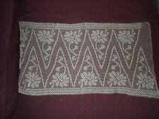 #988  Beautiful Vintage Filet Lace   67cm/36cm(26''x14'')