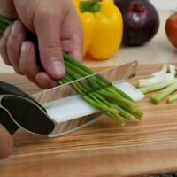 Clever Cutter Knife 2-in-1 & Cutting Board Scissors Chop Slicer Food Chopper UK