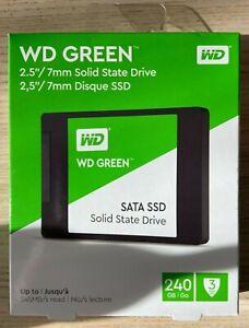 """Western Digital Green 240GB 2.5"""" SATA III WD Internal SSD Solid State Drive- UK"""