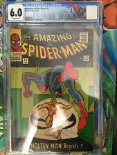 Amazing Spiderman #35 2nd MOLTEN MAN! DITKO! CGC 6.0 FN