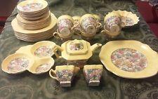 A 38 Piece James Kent LTD Luncheon Desert Tea Set
