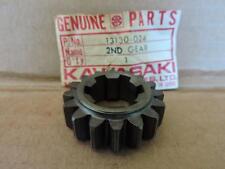 NOS KAWASAKI - TRANI  2ND DRIVE GEAR -  F6 -F7 -KD175 -KE175    13130-024