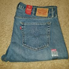 Levi's 559 Relaxed Straight Jeans Size 42 x 30 #005590447 Three Sisters Dark $58