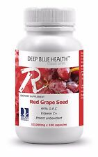 Red Grape Seed 12000mg (600 Caps) Buy 5 Bottles Get 1 FREE! Limited Time Offer