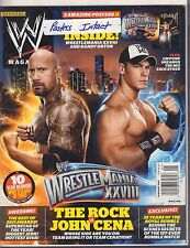 WWE Magazine January 2012 The Rock, John Cena 040317nonDBE
