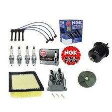 Complete Tune Up Kit Filters,Cap,Rotor,NGK Plugs Civic EX 1.6 D16Y8 96 to 2000