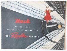 NASH Rambler 1955 Montreal dealer brochure  - English - Canada - ST1002001018