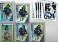 2020 BOWMAN BO BICHETTE RC LOT OF 18X CARDS PAPER INSERTS TORONTO BLUE JAYS