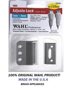 Wahl 3-Hole Adjusto Lock Blade for Senior 8500 Designer 8355 Clippers Model 1005
