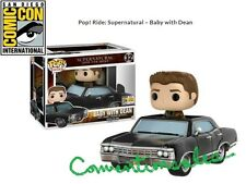 """OFFICIAL"" SDCC 2017 FUNKO POP! RIDE: SUPERNATURAL - BABY with DEAN VINYL IMPALA"