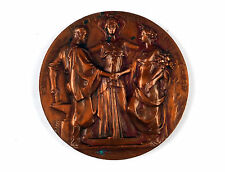 Belgian bronze medal INTERNATIONAL EXPOSITION 1897 BRUXELLES by Lagae & Wolfers