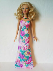 Madame Alexander ALEX DOLL CLOTHES Bouquet Gown & Jewelry FASHION NO DOLL d4e