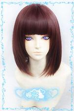523 samumenco Samurai Flamenco Misawa Mizuki Short Brown mix BOBO Cosplay Wig